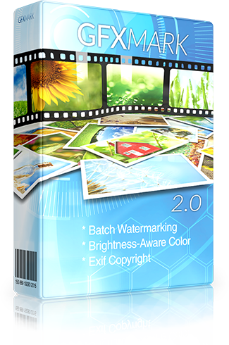 GFXMark - Batch Image Watermarking Software