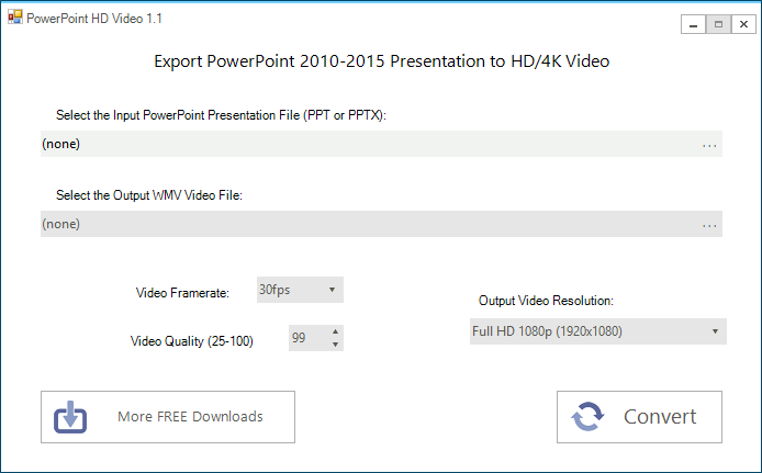 PowerPoint HD Video screenshot